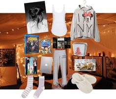 """Friday night :)"" by elzisme ❤ liked on Polyvore"