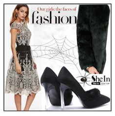 """""""SheIn #4/7"""" by s-o-polyvore ❤ liked on Polyvore"""