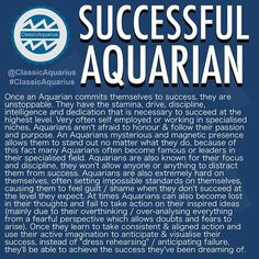 Aka Aquarians are unstoppable