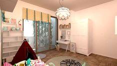 camera-copii-fete Loft Bed, Decor, Interior Design, Furniture, Bed, Home, Interior, Studio, Home Decor