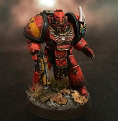 Death of a Rubricist: + inload: Painted Blood Angel +