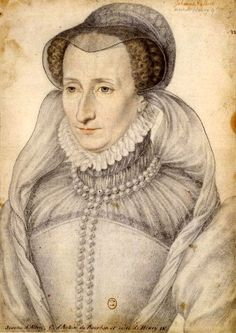 Jeanne Albret of Navarre, mother of Henri IV of France and mother-in-law of Margot, daughter of Henri II and Catherine de Medici