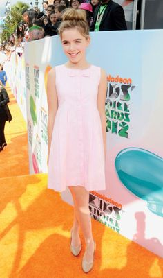 Kiernan Shipka! Most articulate and stylish 12 year old I know! Chicago brought her up right :)