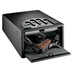GunVault Pistol Safe Mini Standard - GV1000C-DLX- Securely Store Your Hangun In This Amazing Product!