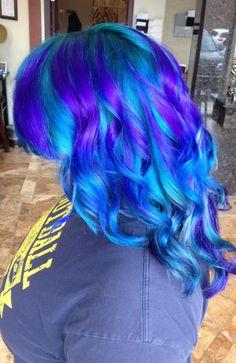 Kims Mermaid :) at Bella Dolche Salona and Spa Everett WA
