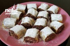 Çikolatalı Çıtır Rulolar Tarifi