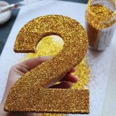 the80sme christmas DIY crafts christmas party decorations julpyssel julpyssla glitter decoupage