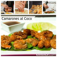 Receta de Camarones al Coco
