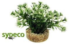 SYDECO Nature Collection Aqua Flora Aquarium Nano Bush White