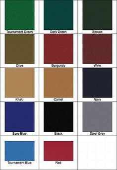 Other Billiards Balls 36102: New 9 Proform High Speed Pool Table Cloth Felt - Red - Ships Fast -> BUY IT NOW ONLY: $212.95 on eBay!