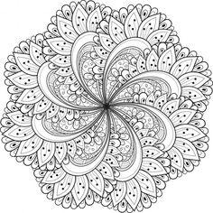 60 imgenes de mandalas para colorear dibujos para descargar e imprimir colorear imgenes