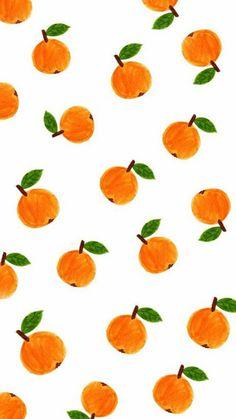 Peaches and Peaches ❤️ Orange Wallpaper, Iphone Background Wallpaper, Aesthetic Iphone Wallpaper, Screen Wallpaper, Aesthetic Wallpapers, Cute Wallpaper Backgrounds, Cute Wallpapers, Boxing Day, Pretty Patterns