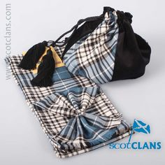 Napier Tartan Bag and Sash Set. Free worldwide shipping available