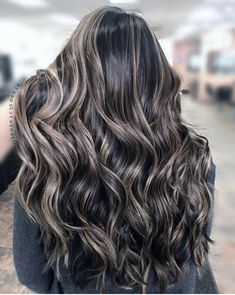 15 Best Ash Blonde Hair Colors of 2019 - Ombre, Highlights & Balayage - Style My Hairs Brown Hair Balayage, Brown Blonde Hair, Balayage Brunette, Hair Color Balayage, Brunette Hair, Ombre Hair, Black Hair With Balayage, Brunette Color, Bayalage