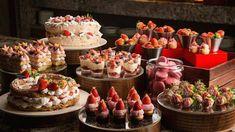 2018 딸기뷔페 일정 가격 총정리 Buffet, Strawberry, Birthday Cake, Table Decorations, Desserts, Food, Image, Tailgate Desserts, Deserts