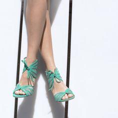 Go green in the OPENLEAF sandal. #inourshoes