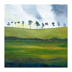 Delgany Hills by Padraig McCaul, Irish art gallery showing works by artists Bob Lynn, Lucy Doyle, Michael Flaherty, Shane Johnson, Colin Flack, Alison Kay and Ken Browne.