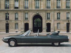 Citroën SM Présidentielle by Henri Chapron 1972 de George Pompidou (découvrable basée sur la Opéra au porte-à-faux arrière rallongé)