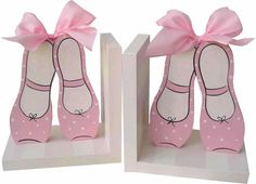 Ballet Shoes Bookends | Jack and Jill Boutique
