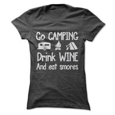 Go Camping T-Shirt! Get YOURS Here! ==> https://www.sunfrogshirts.com/Go-Camping-59475303-Ladies.html?3686