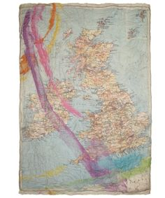 Silk escape map scarf official imperial war museums silk ww2 british map paint print scarf faliero sarti shop the latest scarves from the faliero gumiabroncs Choice Image