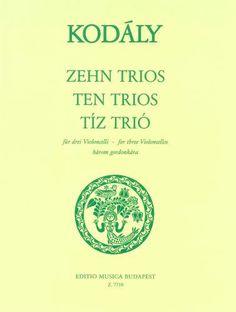 Kodály: Ten Trios for 3 Cellos