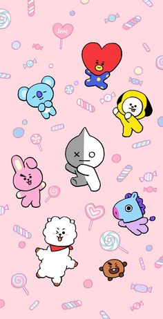 BROWN PIC is where you can find all the character GIFs, pics and free wallpapers of LINE friends. Whats Wallpaper, Bts Wallpaper Lyrics, Army Wallpaper, Kawaii Wallpaper, Galaxy Wallpaper, Aztec Wallpaper, Pink Wallpaper, Screen Wallpaper, Anime Disney