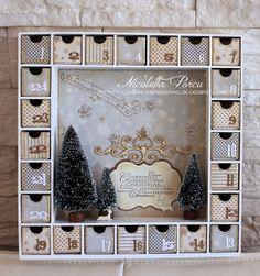 Un calendario dell'avvento aspettando la madia del Natale!