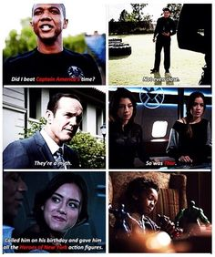 The Marvel Cinematic Universe references in Agents of SHIELD are the best