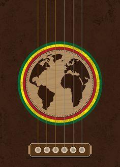 Finalists Posters of the First International Reggae Poster Contest! Reggae Art, Reggae Style, Reggae Music, Music Pics, Music Artwork, Music Images, Rastafari Art, Rasta Art, Reggae Festival