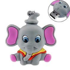 8GB USB Flash Drive Cartoon Elephant Shaped 8G Memory Stick USB 2.0 U Disk - Grey, http://www.amazon.com/dp/B00AOGB9UK/ref=cm_sw_r_pi_awdm_l0Uvub0Y05BYK
