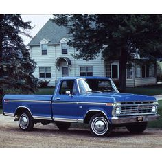 '73 f-100 ford truck  Reminds me of my grandpa's car