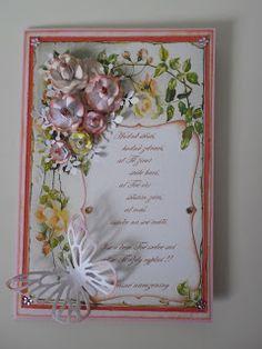 Přání na přání: Přání k narozeninám Frame, Cards, Scrapbooking, Blog, Decor, Picture Frame, Decoration, Blogging, Maps