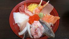 海鮮丼@金沢近江町市場