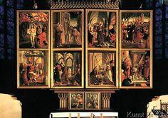 Michael Pacher - Pacher / St. Wolfgang altar / 1481