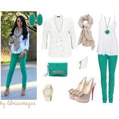 Green with Envy - Polyvore