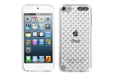 Transparent Diamond Flexible Soft TPU Rubber Protector Cases for iPod touch 5th Gen | Lagoo Tech