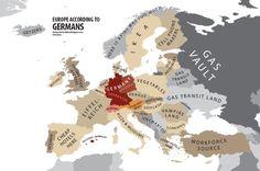 Europa acorde a los alemanes.