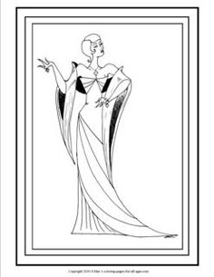 art deco coloring pages for adults google search