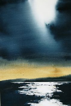 "Saatchi Online Artist Nadia Tognazzo; Painting, ""Before the storm"" #art"