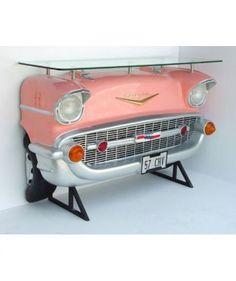 57 Chevy Replica Bar Roze