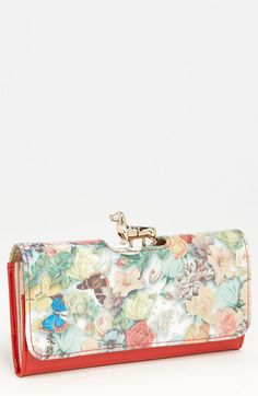 Ted Baker London 'Decoupage - Dachshund Bobble' Matinee Wallet available at #Nordstrom