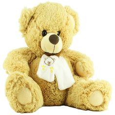 Urso de Pelúcia Soft Grande Caramelo Artigos Para Festa Infantil 1fc8235cadb6b