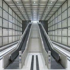 Max Dudler Architekt - S-Bahnstation Leipzig