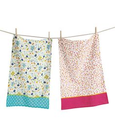 Look what I found on #zulily! Floral Dish Towel - Set of Two #zulilyfinds