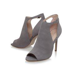 852645f6374 Glacier Grey Mid Heel Sandals By Carvela Kurt Geiger