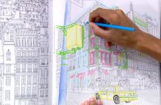 Long regarded as mere child's play, coloring isn't just for kids anymore. Adult coloring books are becoming big business, attracting dedicated fans, celebrity authors, and renowned artists like Steve McDonald. Yahoo global news anchor Katie Couric takes a look at this new craze.