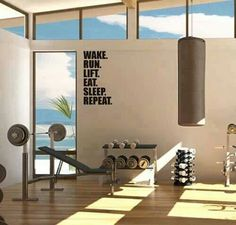 Comhome Decor Courses : 1000+ images about Simple home gym on Pinterest  Home gyms, Workout ...