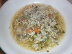Mangio sano........mangio Vegano! (e mi diverto): Minestrone estivo.... con shirataki di riso
