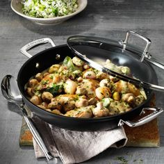 True comfort food in a one-pot recipe and cooked with ease in the Toughened Non-Stick Buffet Casserole. Sautéed chicken pieces combine beautifully with caramelised shallots, button mushrooms and fresh herbs in a creamy white wine sauce. This rich and flavoursome French-inspired dish is somewhere between a sauté and a stew and is delicious served with …